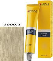 1000.1 Интенсивный пепельный Перманентная крем-краска Indola Profession Blonde Expert Permanent Caring Color