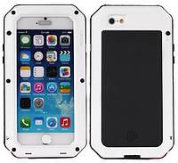 Чехол LunaTik Taktik Strike Gorilla Glass для iPhone 5/5s/5se White (4948)