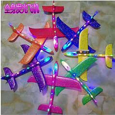 Планер-самолетик светящийся оптом