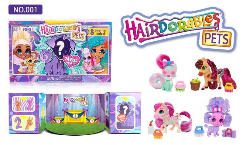 Hairdorables Pets