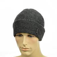 Мужская шапка LEXUS на флисе темно-серый