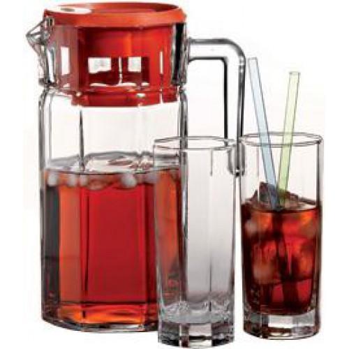 Набор стаканов высоких + графин Kosem  (7шт)