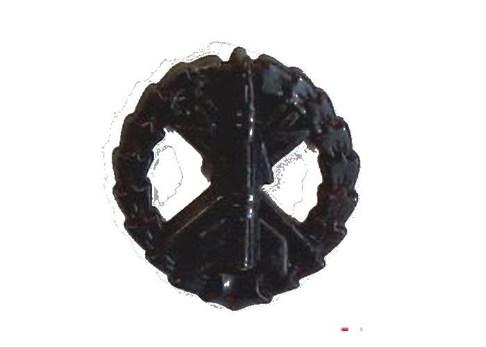 Эмблема зенитно-ракетных войск (полевая)старого образца