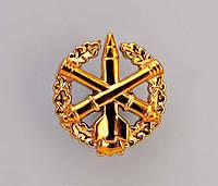 Эмблема зенитно-ракетных войск (золотистая)старого образца