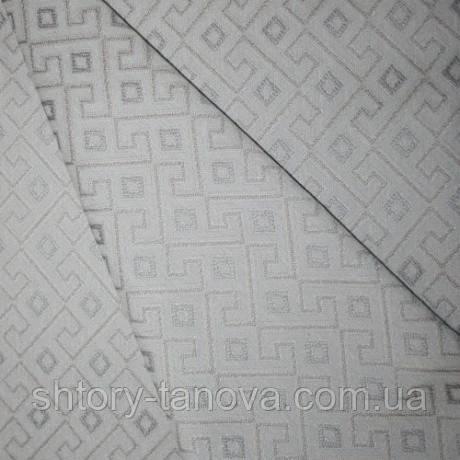 Декор ури лабиринт бежевый/серый