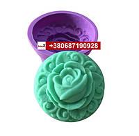 Пищевая силиконовая форма роза
