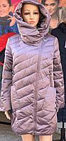 Демисезонная женская куртка Visdeer 961, размеры 48, 58