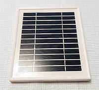 Солнечная панель 6V для зарядки мобильных устройств, штекер 5.5-2.1