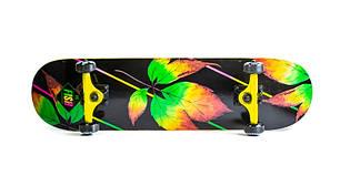 Деревянный скейт скейтборд скейтборт от Fish Skateboard Лист, фото 2