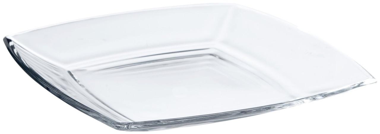 Набор сервировочных тарелок стеклянных Токио (6шт)  195*195 мм