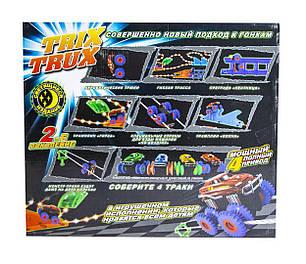 Монстер-Траки (Trix Trux) LED  YG14 (светящийся трек и 2 машинки), фото 2