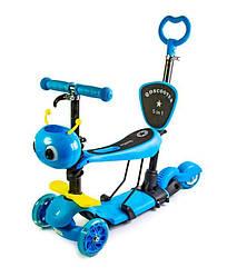 "Самокат Scooter ""Пчелка"" 5in1 Blue"