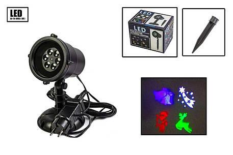 Новогодний уличный лазерный проектор X-Laser XX-TA-1005, фото 2