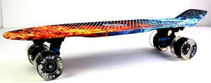 "Penny Board ""Fish"" Fire and Ice., фото 2"