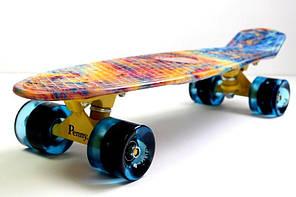 """Penny Board """"Acid"""" Светящиеся колеса, фото 2"""