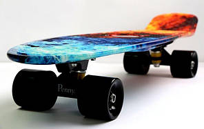 "Penny Board Nickel 27"" ""Fire and Ice""., фото 2"