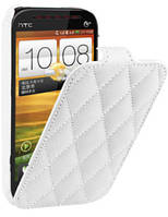 Чехол для HTC Desire V T328w - Vetti Craft flip Diamond Series
