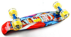 """Penny Board """"Funny elephant"""" Светящиеся колеса., фото 3"""
