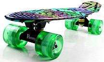 """Penny Board """"Star"""" Светящиеся колеса, фото 2"""