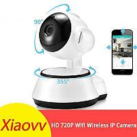 Панорамная IP Wi-Fi камера XiaoVV Q6S, IR. ONVIF. Обнаружение движения.Android/iOs/Windows.V380