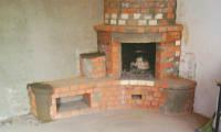 Кладка каминов,барбикю,руская печь