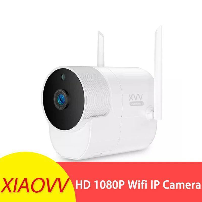 Панорамная влагозащищенная IP WiFi смарт камера XiaoVV XVV-1120 1080P Onvif. V380 Pro
