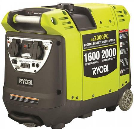 Генератор бензиновый RYOBI RiG2000PC, фото 2