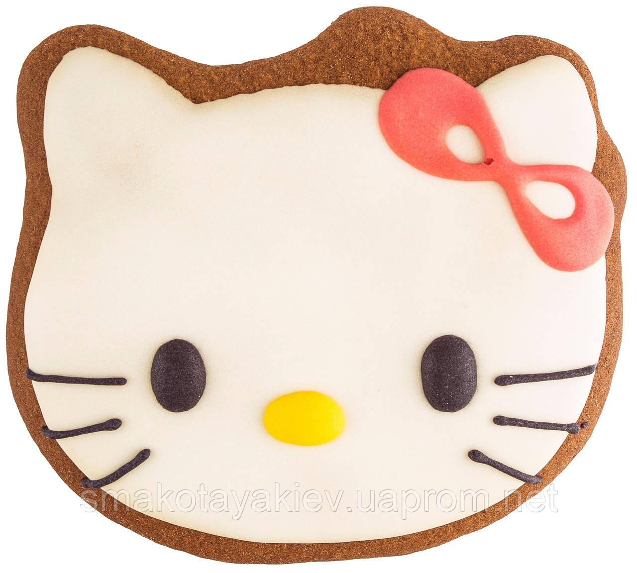 """Розписний пряник ручної роботи - """"Hello Kitty"""""""