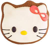 """Расписной пряник ручной работы - """"Hello Kitty"""""""