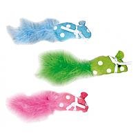 Karlie Flamingo (Карле Фламинго) Polka mouse мышка с кошачьей мятой игрушка для кошек