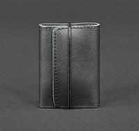 Кожаный кард-кейс 1.1 (черный), фото 1