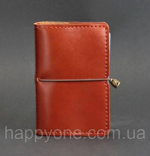 Кожаный кард-кейс 7.0 (светло-коричневый)