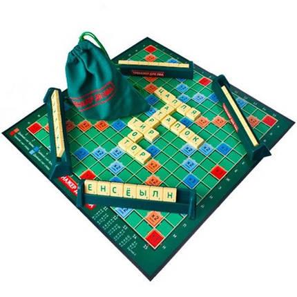 Настольная игра Тренажер для ума (Скрабл, Scrabble), фото 2