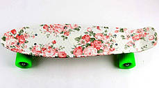 "Penny Board ""Flowers""., фото 3"
