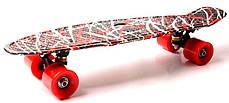 "Penny Board ""Red design"", фото 3"