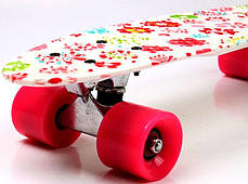 "Penny Board  ""White Flowers"", фото 2"