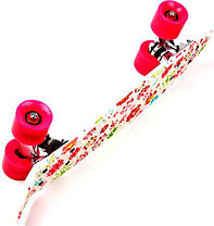 "Penny Board  ""White Flowers"", фото 3"
