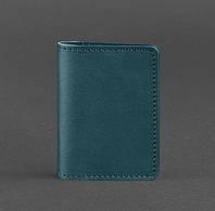 Женский кожаный кард-кейс 6.0 (зеленый), фото 1