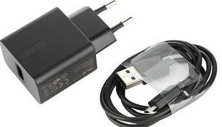 Сетевое зарядное устройство зарядка Asus (Go) 2 в 1 Micro USB оригинал для