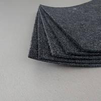Войлочный фетр 3 мм, 450 г/м2 . Цвет: серый Ширина 150 см