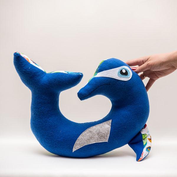 Подголовник Vikamade Дельфин