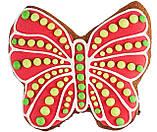"""Розписний пряник ручної роботи - """"Метелик"""", фото 2"""