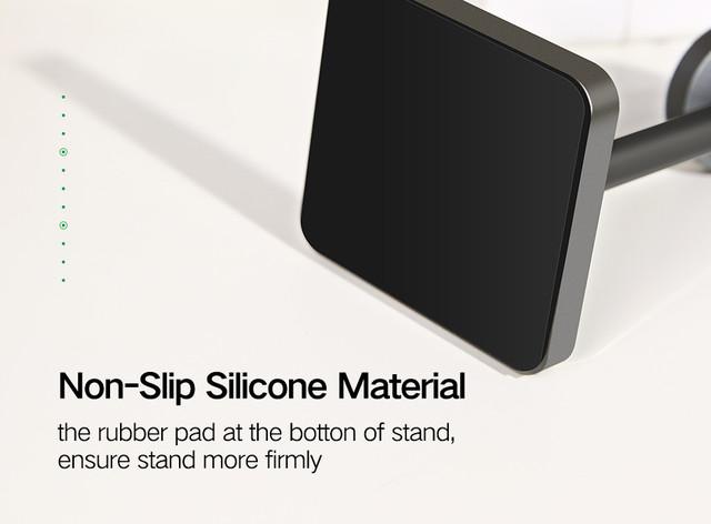 Универсальный магнитный держатель Ugreen для телефона LP125 (Серый)