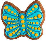 """Розписний пряник ручної роботи - """"Метелик"""", фото 3"""