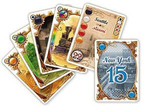 Настольная игра Ticket to Ride The Card Game (Билет на поезд Карточная игра), фото 3