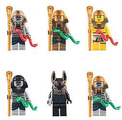 Фигурки Фараоны,мумии,Скуби-Ду Lego Лего