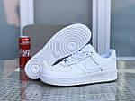 Мужские кроссовки Nike Air Force (белые), фото 2