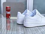 Чоловічі кросівки Nike Air Force (білі), фото 3
