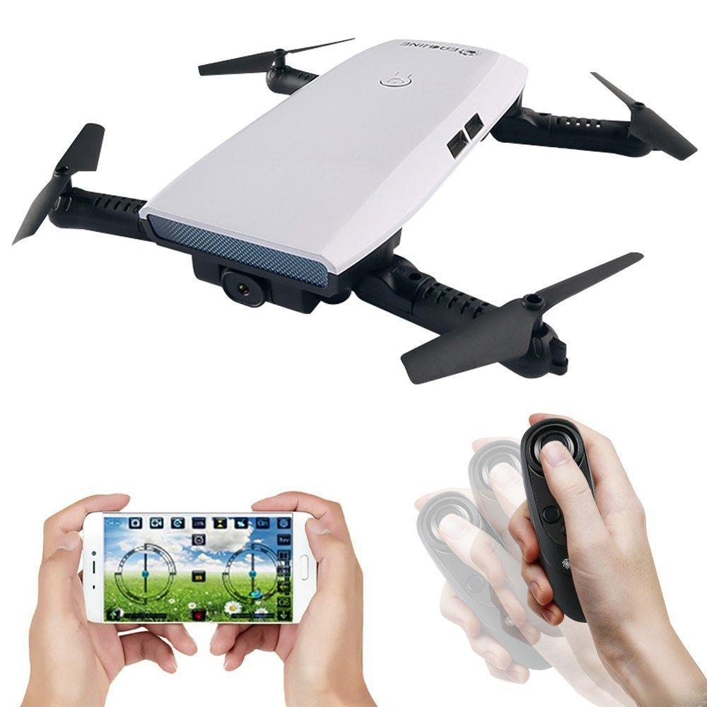 Квадрокоптер Eachine E56 с FPV Wi-Fi камерой | складной дрон | барометр | кейс | гироскоп