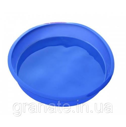 Силиконовая формочка для выпечки круглая  25.5х5 см